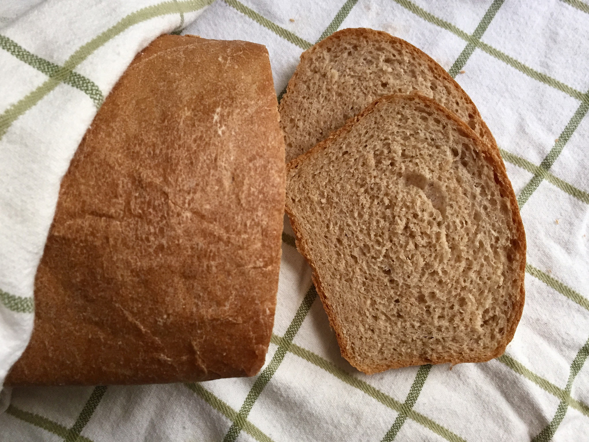 light wheat bread slices